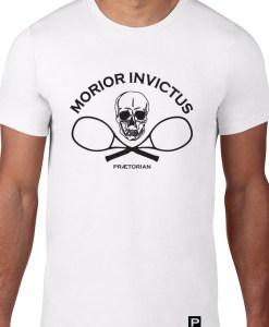 Tricou Praetorian Mirior INvictus - model - alb