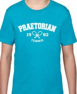 Tricou de bumbac pentru antrenament, Praetorian Tennis