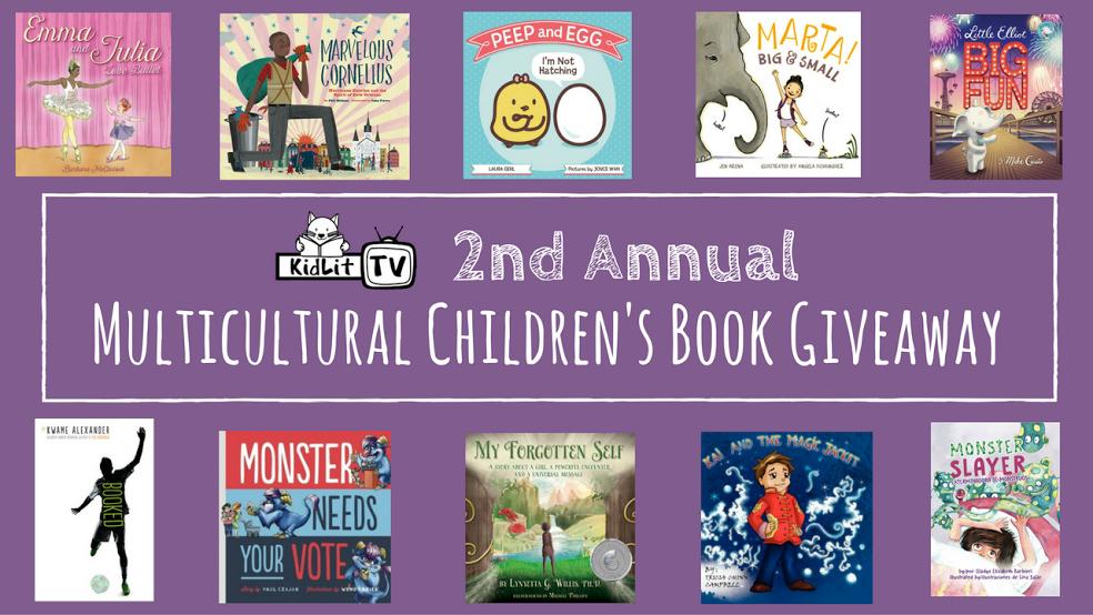 Multicultural Children's Book Bundle Giveaway