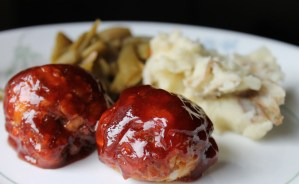 Simple, Sweet and Savory BBQ Meatballs