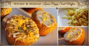 Sweet & Simple Lemon Poppy Seed Muffins