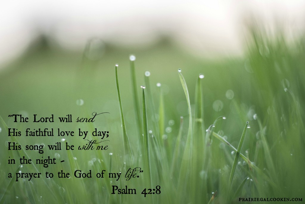 Lord will send His faithful love...