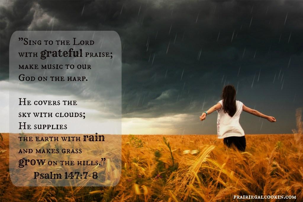Psalm 147-7-8
