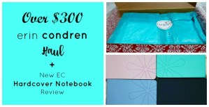 $300 Erin Condren Haul + NEW EC Hardcover Notebook Review (Your Awesome Planner Series)