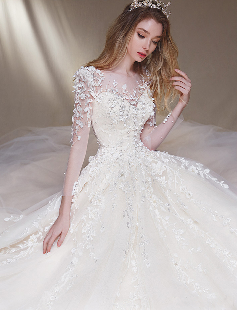Compelling Pockets Praise Wedding Wedding Dresses Not Wedding Dresses Village Wedding Dresses A Touch wedding dress Modern Wedding Dresses