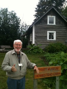 Tom Kane, Homestead Cabin Docent Volunteer