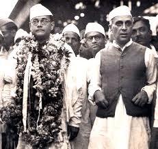 netaji and nehru