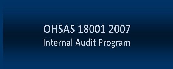 OHSAS 18001 2007 OHS Audit Program