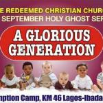 "September Holy Ghost Service Prayer Points: ""A Glorious Generation"" by Pastor E. A. Adeboye"