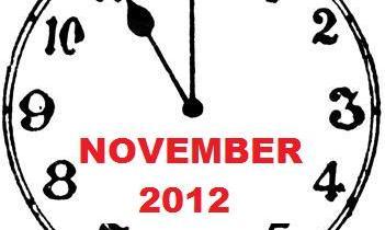 NOVEMBER 2012