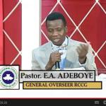 The Holy Spirit (Video) Parts 1-4 – By Pastor E. A. Adeboye
