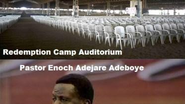 Redemption Camp RCCG - Redeemed Christian Church of God