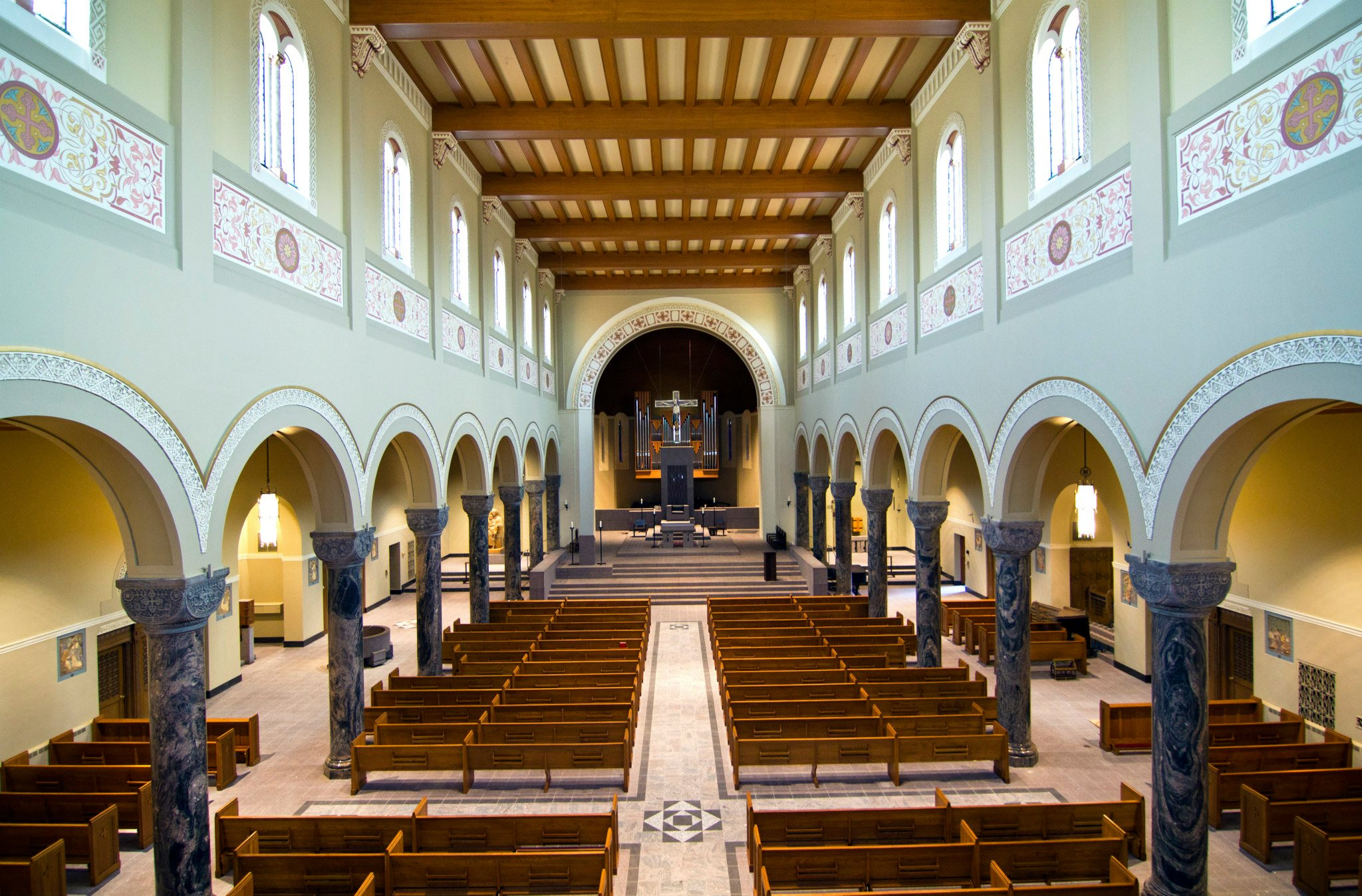 A Newly Refurbished Interior For St Mary Cathedral In St
