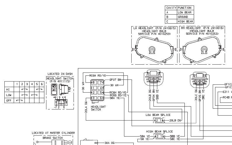 rzr 800 wiring diagram