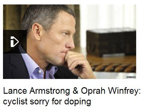 Lance Armstrong on Oprah