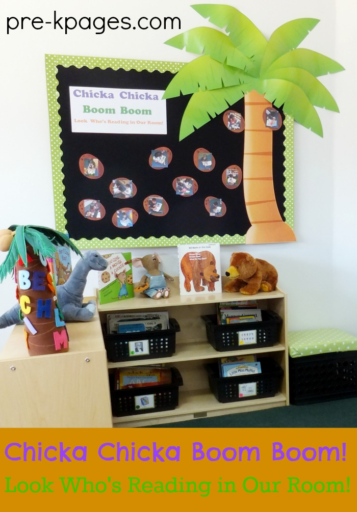 Literacy Classroom Decor ~ Classroom library center in preschool pre k and