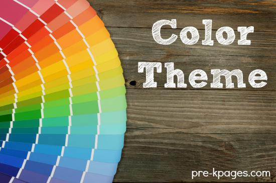 Color Theme Activities For Preschool