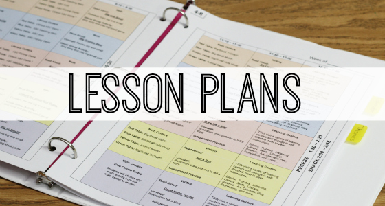 teachers plan book template