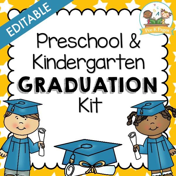 Preschool Graduation Kit - Pre-K Pages - graduation program template pdf