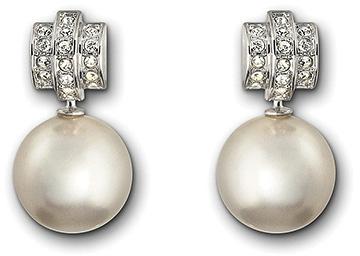 Swarovski Perpetual Pierced Earrings Precious Accents Ltd
