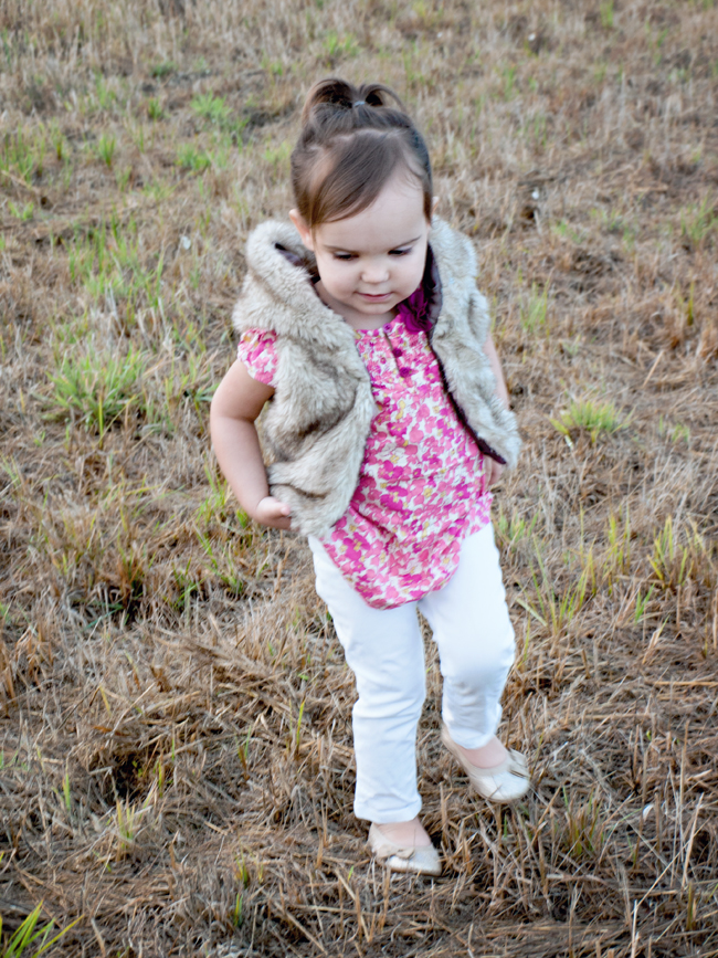 Easy Fur vest refashion | by Preciously Paired