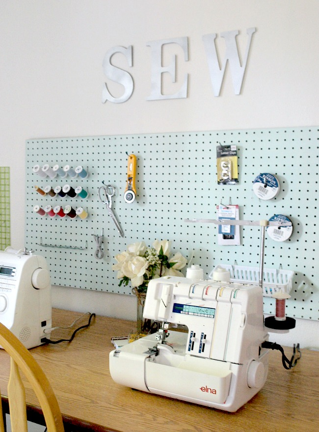 Sewing Room | Stripes and Polka Dots
