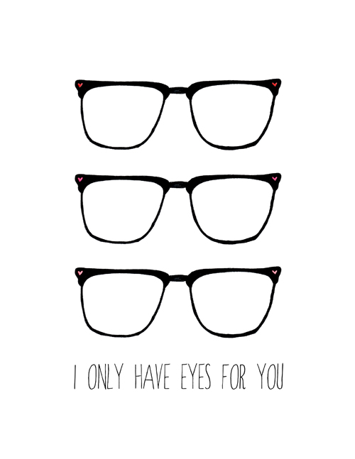 I only have eye for you print web preview