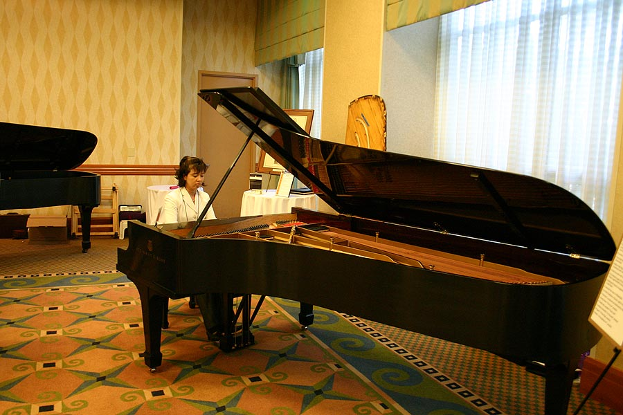 Precision Piano Services Founder Franco Skilan at 2008 PTG Conference