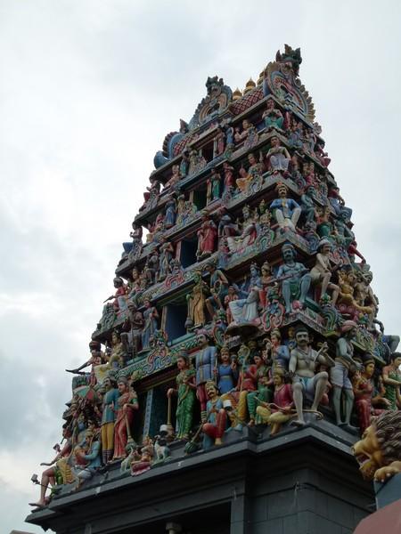 templo indiano de Singapura