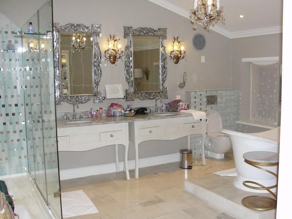 Banheiro do hotel Cape Heritage na Africa do Sul