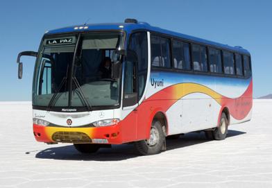 Foto retirada do site http://www.todoturismo.bo/. O tal ônibus da Todo Turismo