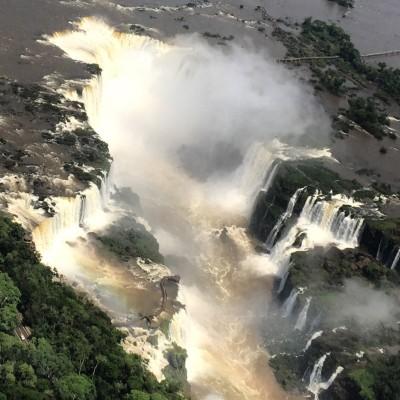 Passeio helicóptero Cataratas do Iguaçu