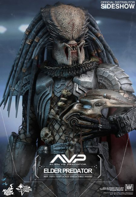 Hot Toys Elder Predator Figure