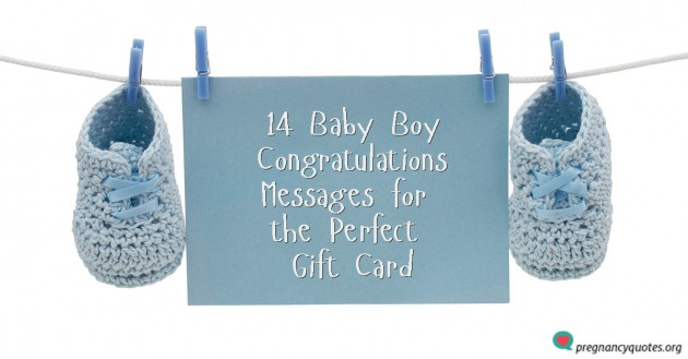 14 Baby Boy Congratulations Messages for the Perfect Gift Card