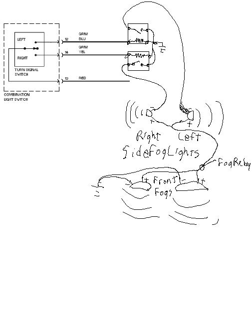 honda prelude fog light wiring diagram