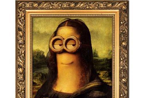 Les Minions s\u0027invitent dans les tableaux de De Vinci, Picasso, Van