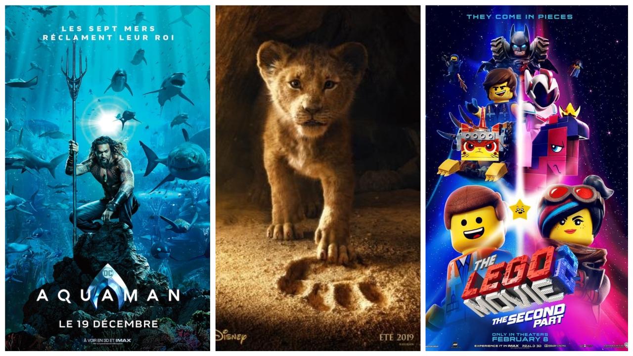 Le Roi Lion Aquaman Lego 2 Decouvrez Les Nouvelles