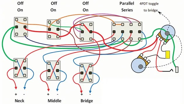 series parallel dpdt switch wiring diagram need rockfield mm pickup