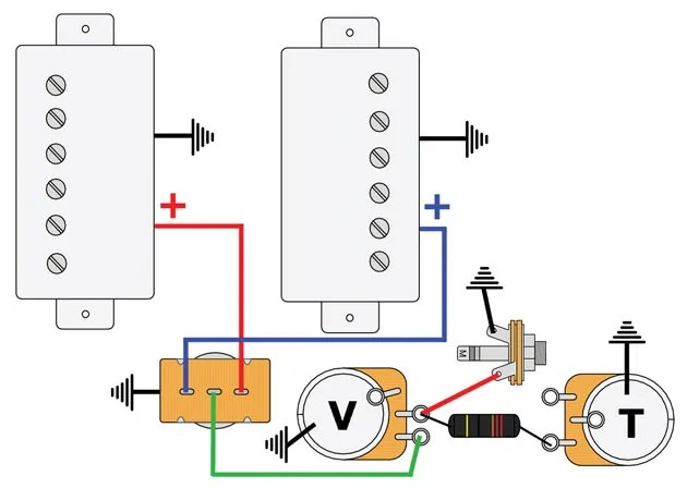 Les Paul Pickup Wiring Wiring Diagram