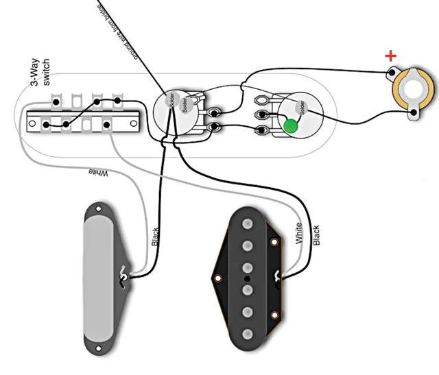 wiring diagram for fender telecaster