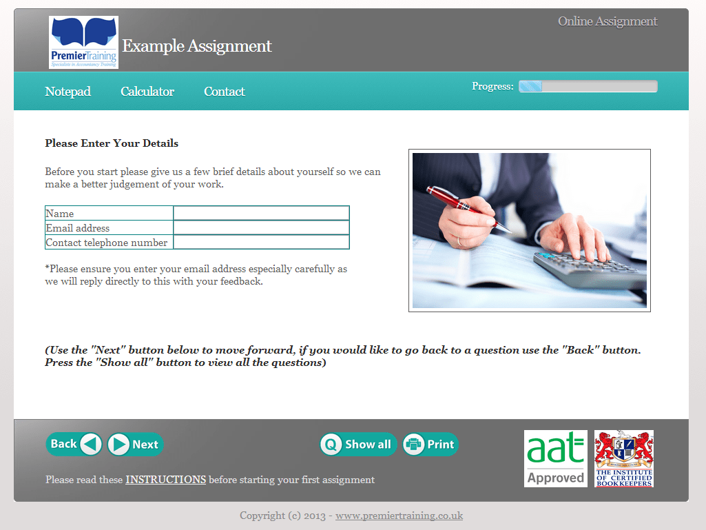 Accounting Howtostudyorg When You Hit The Books And Aat Level 2 Certificate In Accounting Aat Distance