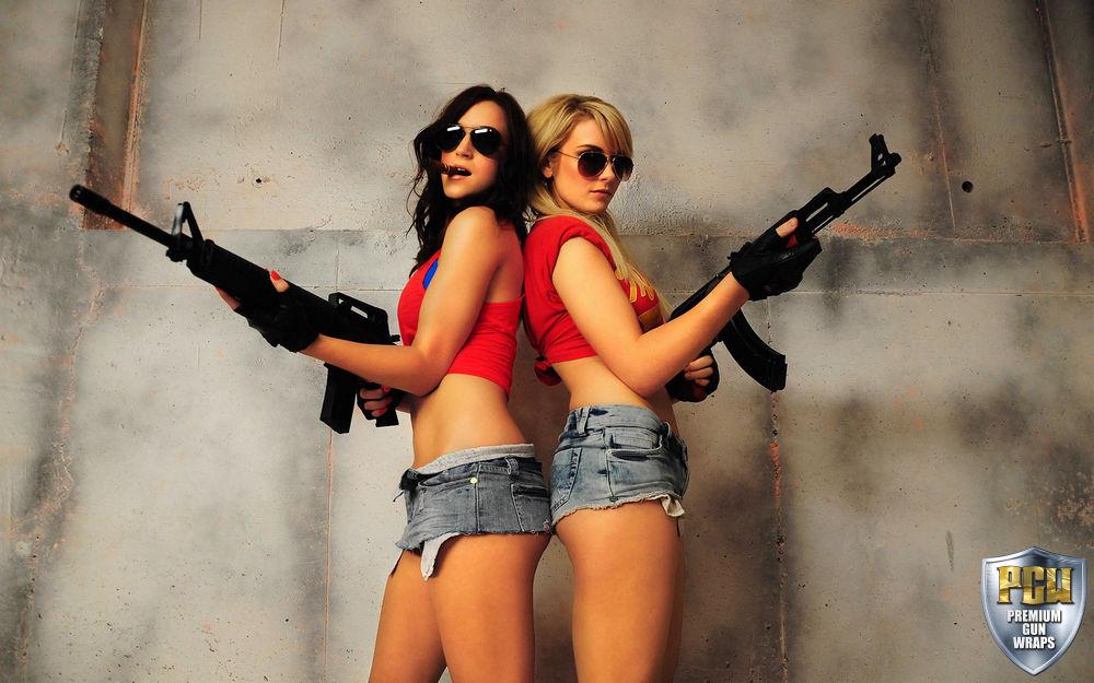 Cute Anime Girl Gun Wallpaper Guns Amp Girls Image Gallery