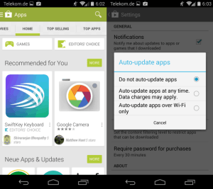 android app update