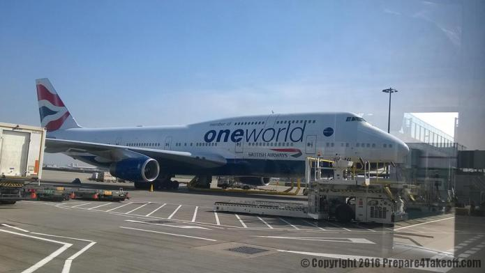 British Airways Boeing 747-400 Oneworld Livery