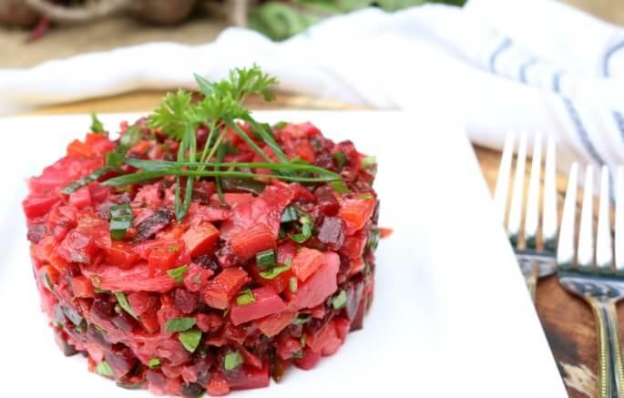 Nourishing Beet Root Salad