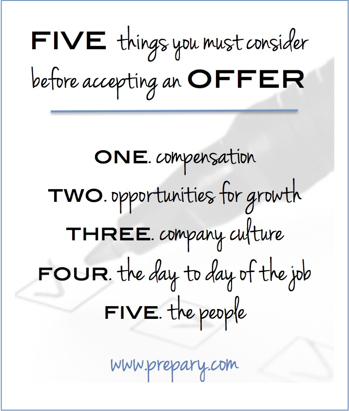 How to analyze a job offer - The Prepary  The Prepary