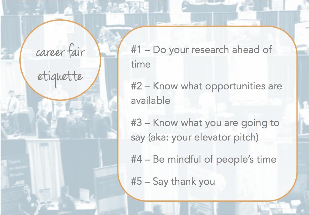 Career Fair Etiquette - 5 Helpful Tips - The Prepary  The Prepary