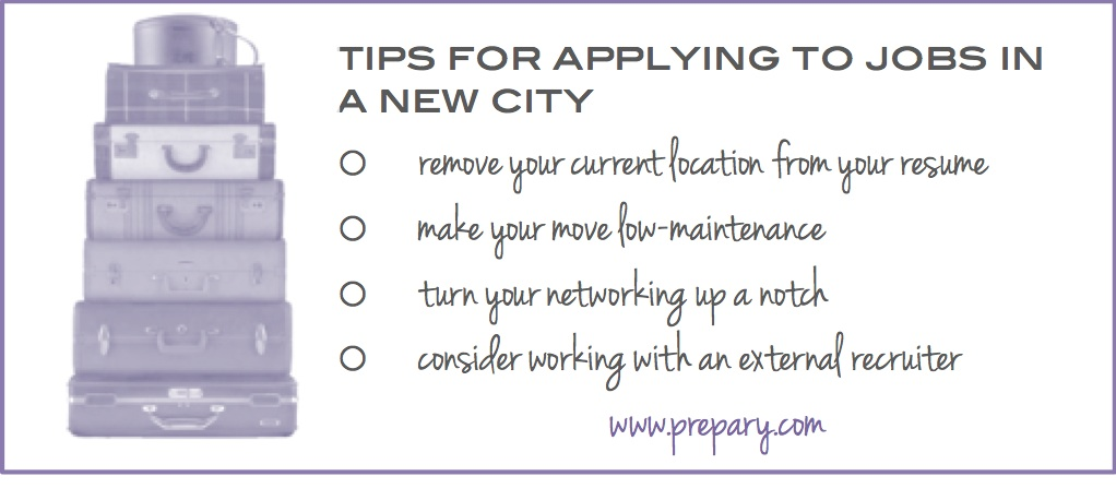 Tips for applying for jobs in another city - The Prepary  The Prepary