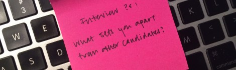 Interview Questions: What sets you apart from other applicants?
