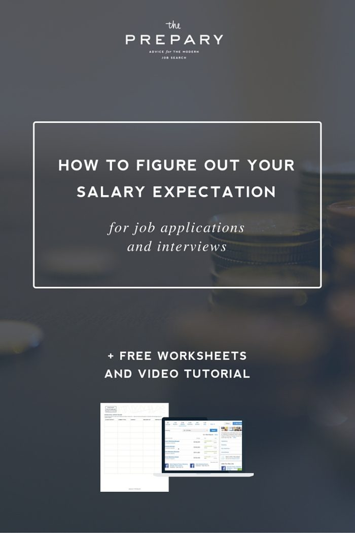 How to figure out your salary expectations - The Prepary  The Prepary
